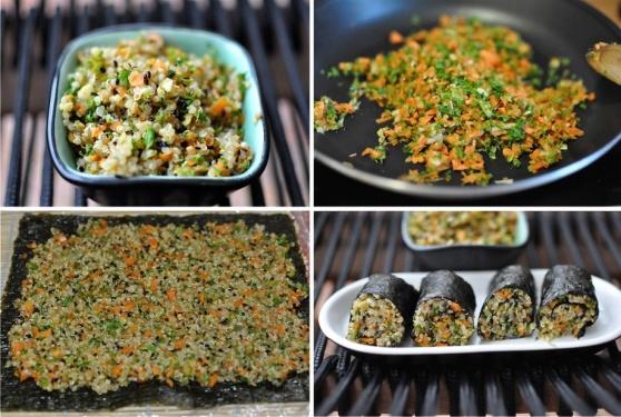 quinoa maki