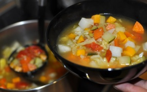 spanish veggie soup