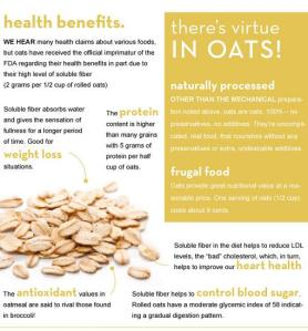 Oatmeal Health Benefits