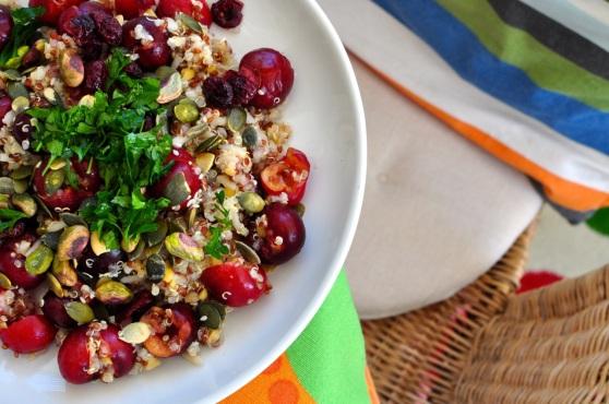 quinoa with cherry