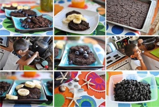 adzuki bean chocolate cookies