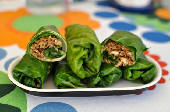 raw vegan rolls