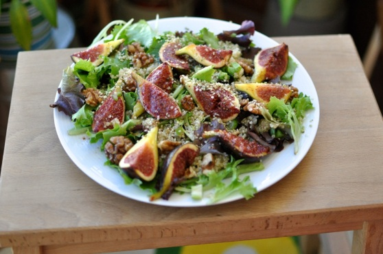 fig salad for lunch