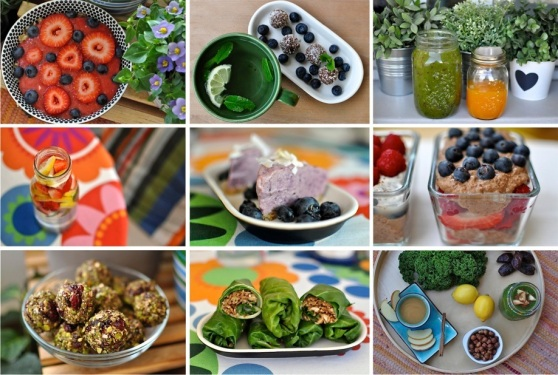 raw vegan foods