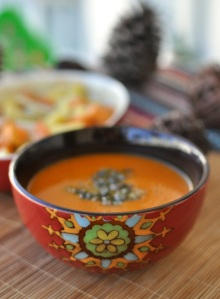 pumpkin soup with carrot
