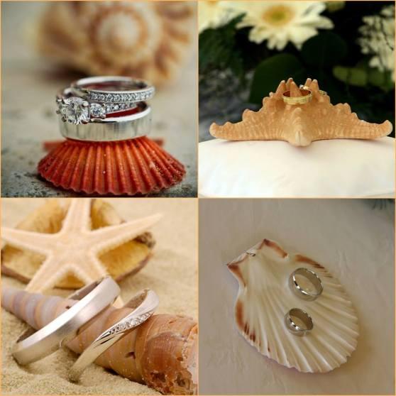 Kagyló gyűrűpárna